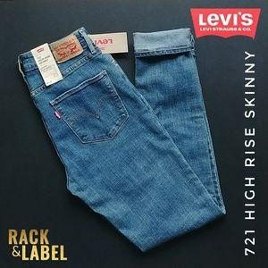 🔥 LEVI'S 721 High Rise Skinny - 28